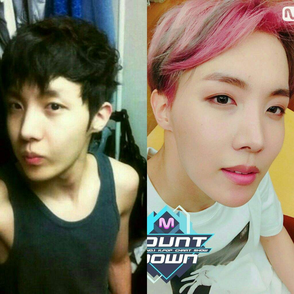 Kpop Plastic Surgery Before And After Bts photo - 1