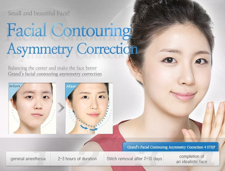 Plastic Surgery Uneven Face Before After 1