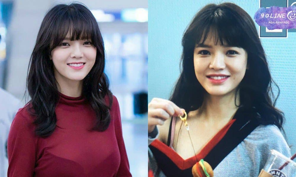 Aoa Jimin Plastic Surgery Before And After 1