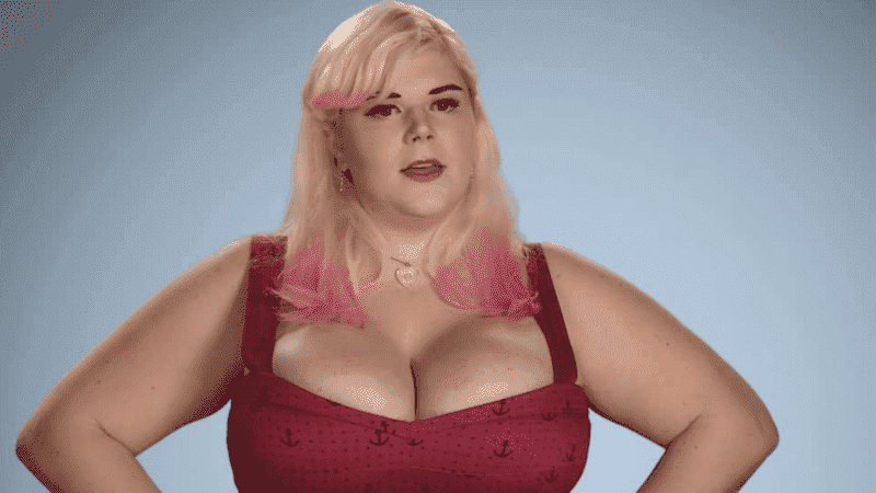 Penny Underbust Brown Before Plastic Surgery 1