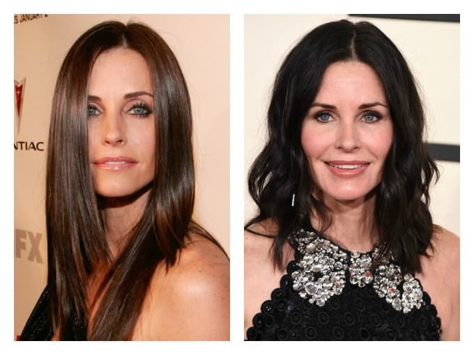 Courteney Cox Plastic Surgery Before And After 1