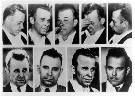John Dillinger Before And After Plastic Surgery 1