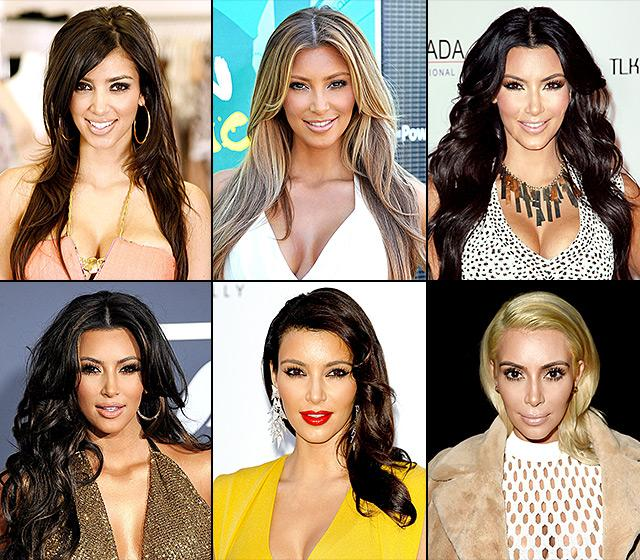 Throughout The Years Of Kim Kardashian Before And After Plastic Surgery 1