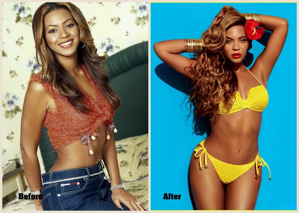 Beyonce Before Plastic Surgery 1