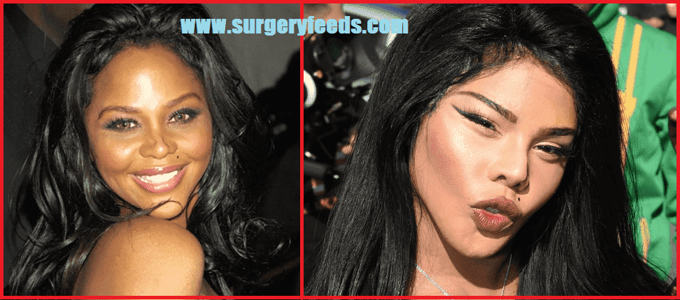 Lil Kim Before Plastic Surgery 1