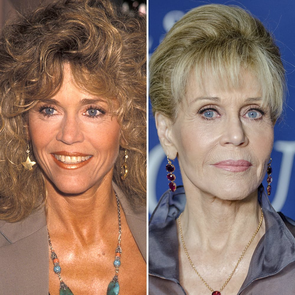 Jane Fonda Before Plastic Surgery 1