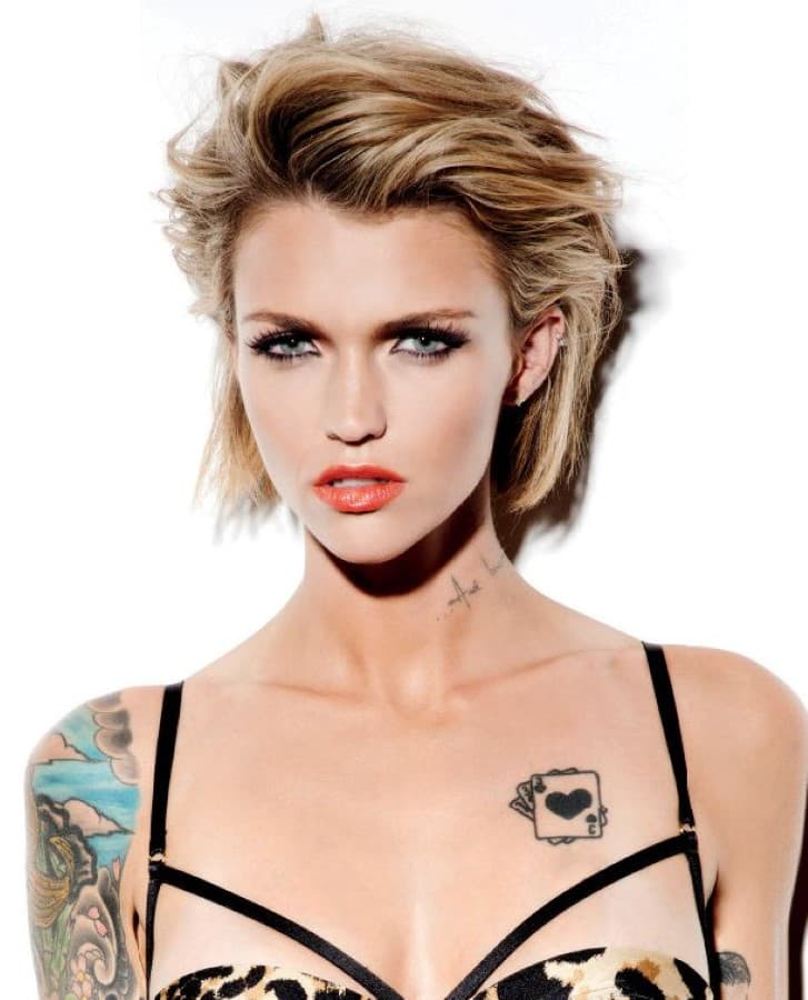 Ruby Rose Before Plastic Surgery 1