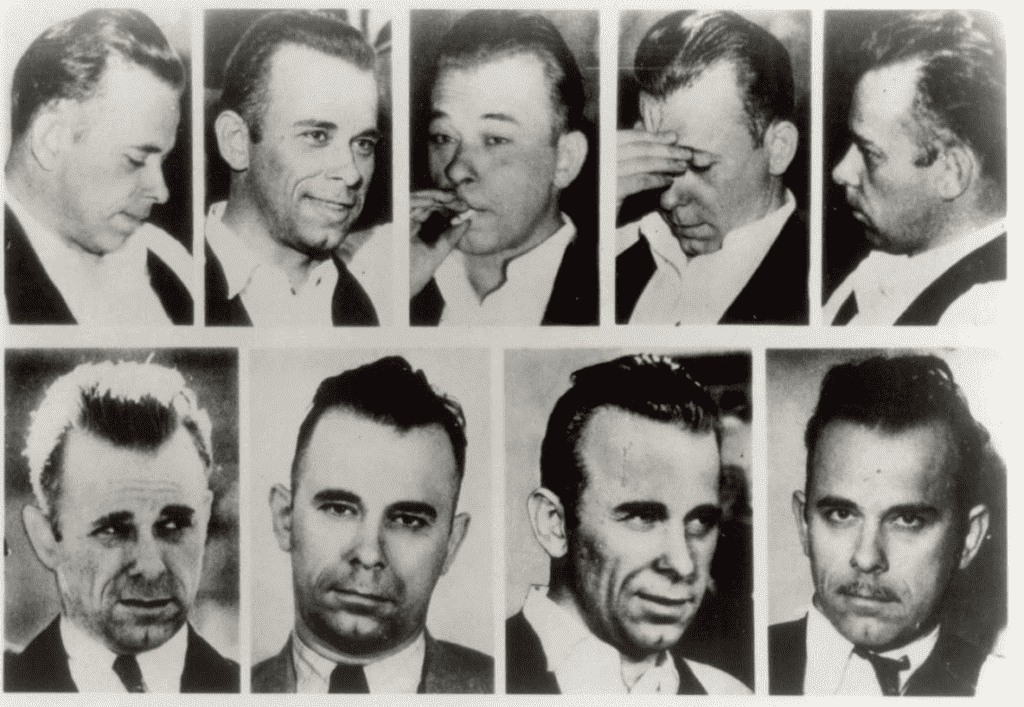 Dillinger Before After Plastic Surgery photo - 1