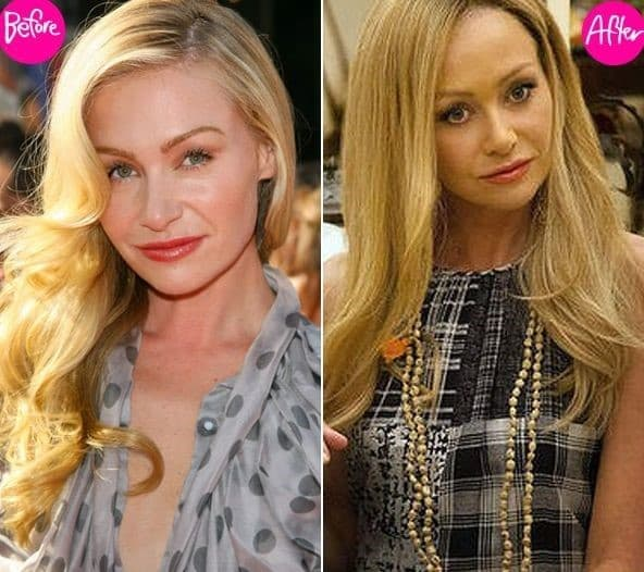 Portia De Rossi Plastic Surgery: Trudie Styler Before And After Plastic Surgery