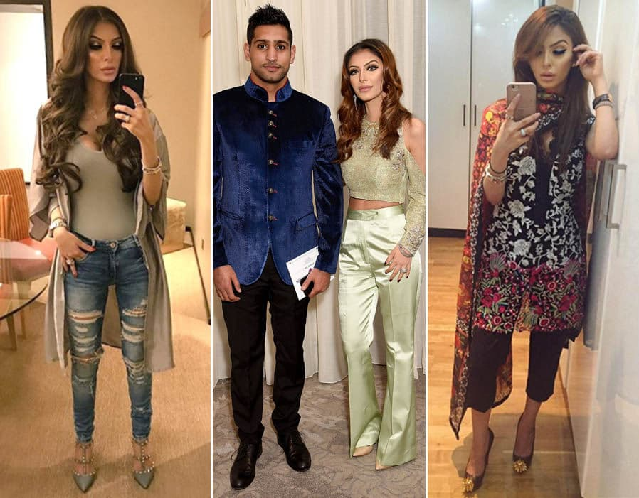 Amir Khan Wife Before And After Plastic Surgery photo - 1