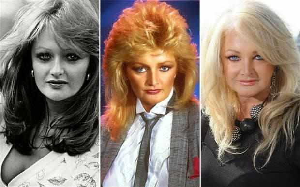 Bonnie Tyler Plastic Surgery Before And After photo - 1