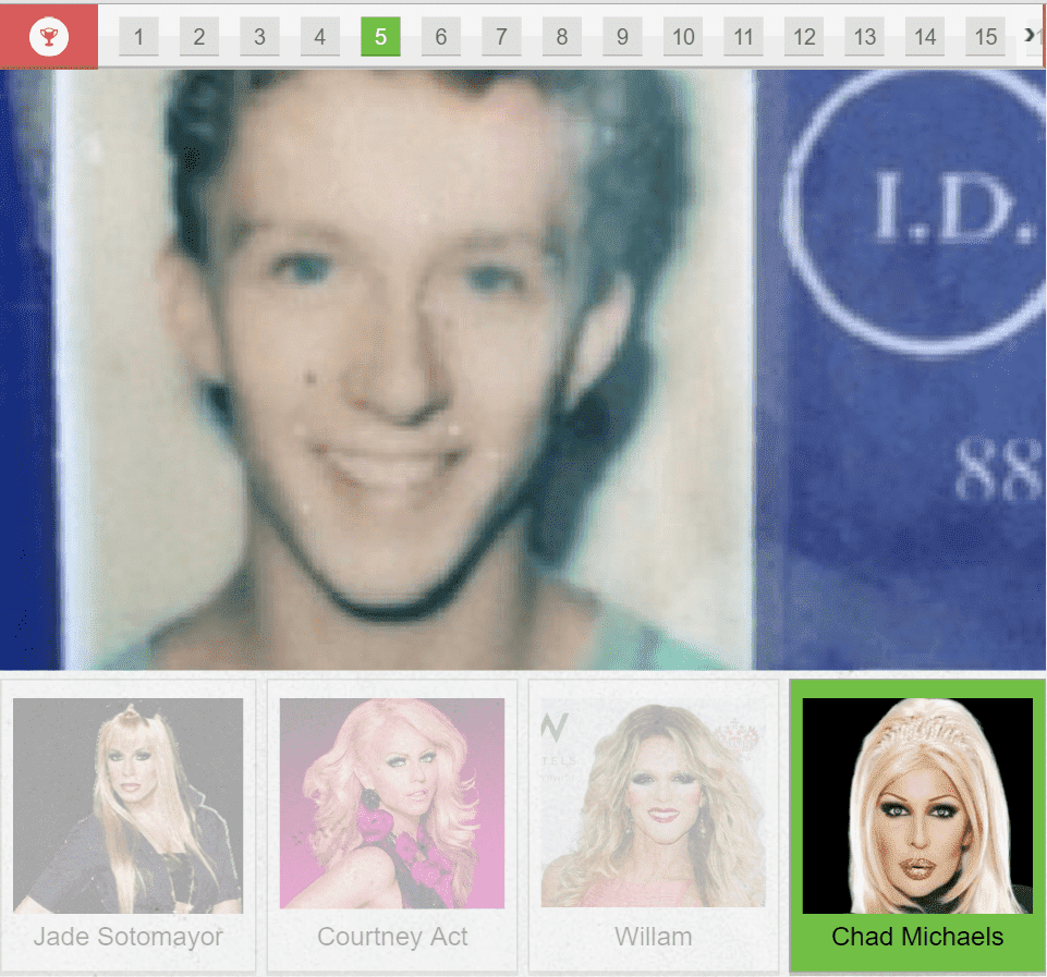 Chad Michaels Before And After Plastic Surgery photo - 1