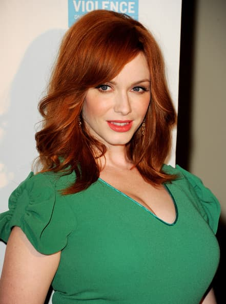 Christina Hendricks Plastic Surgery Before And After photo - 1