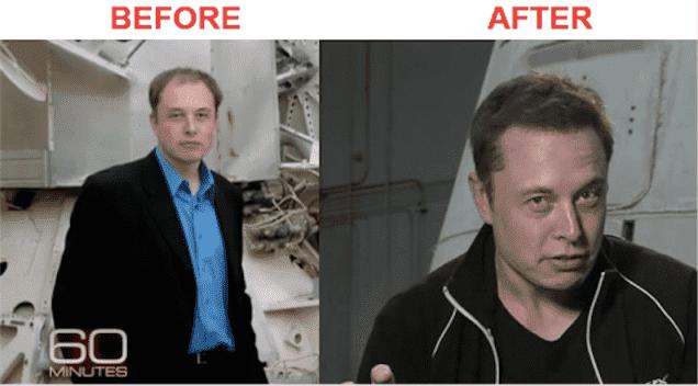 Elon Musk Before Plastic Surgery photo - 1
