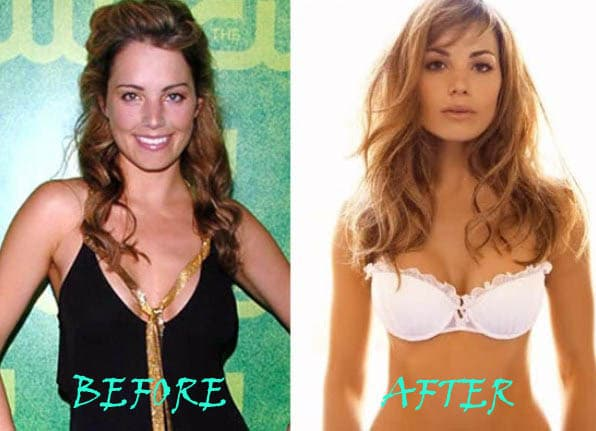 Erica Durance Before Plastic Surgery photo - 1