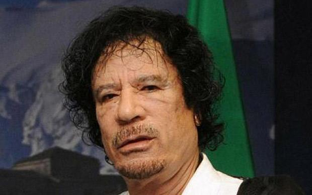 Gaddafi Before Plastic Surgery photo - 1