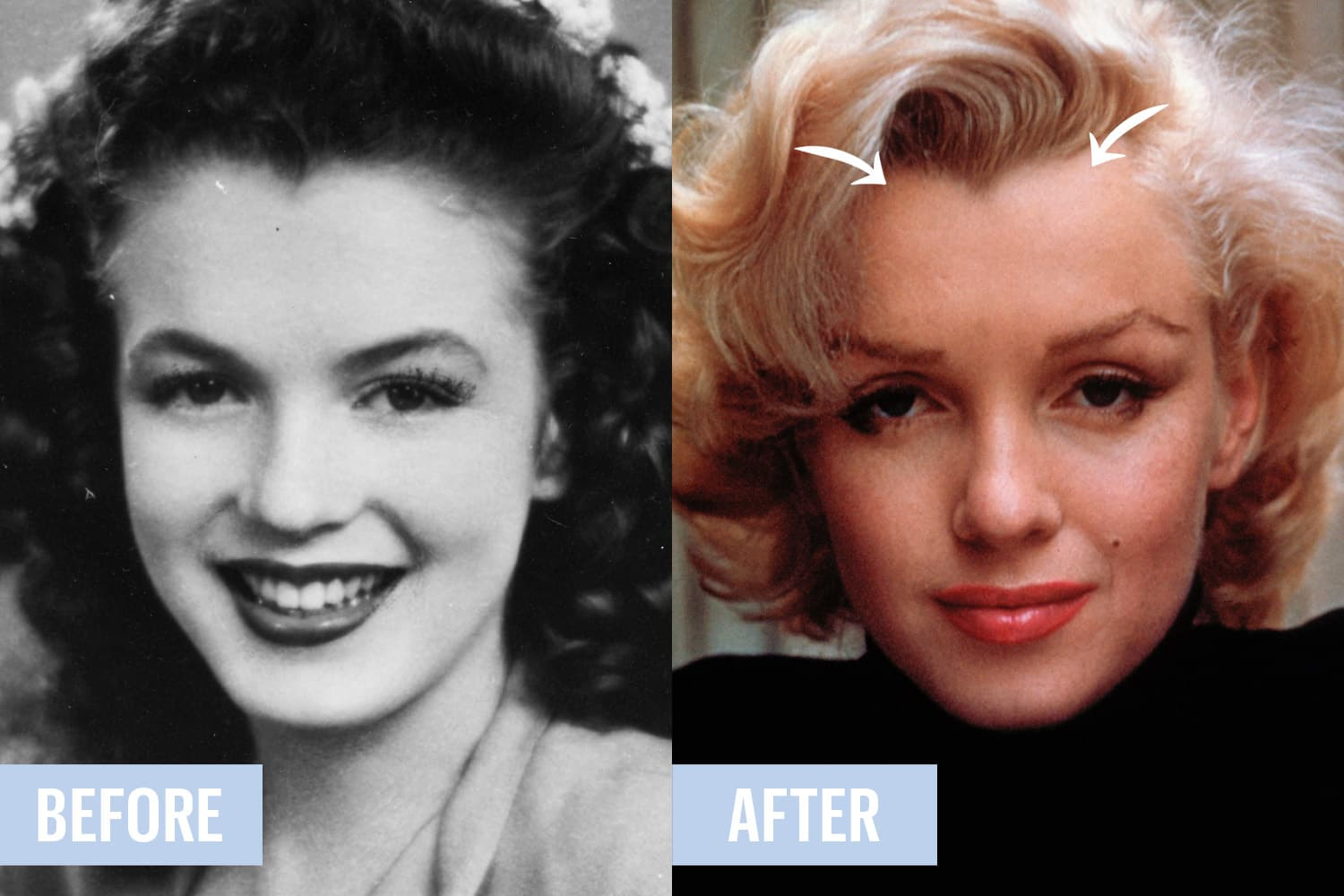 Gloria Grahame Plastic Surgery Before And After photo - 1