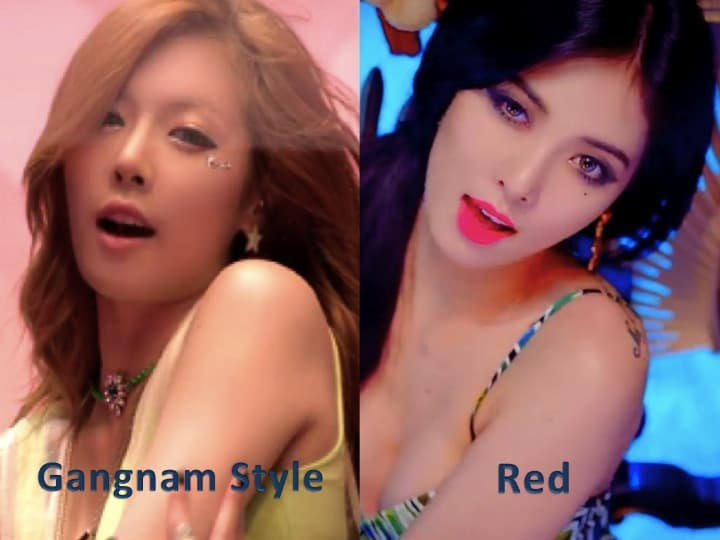 Hyuna Plastic Surgery Before After photo - 1