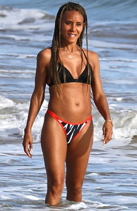 Jada Pickett Before And After Plastic Surgery photo - 1