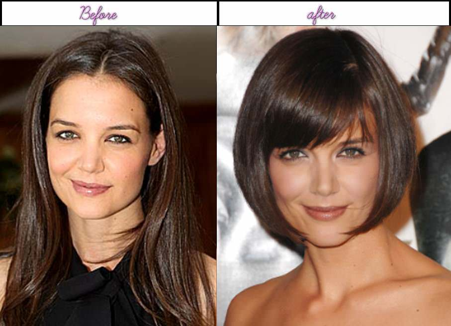 Katie Holmes Before After Plastic Surgery photo - 1