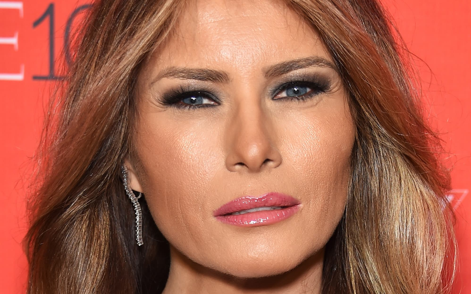 Melania Trump Plastic Surgery Before photo - 1