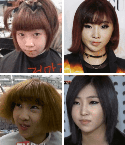 Minzy 2Ne1 Before And After Plastic Surgery photo - 1