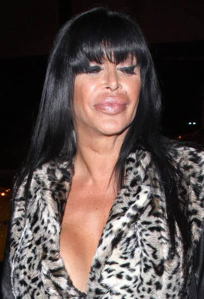Mob Wives Ang Before Plastic Surgery photo - 1