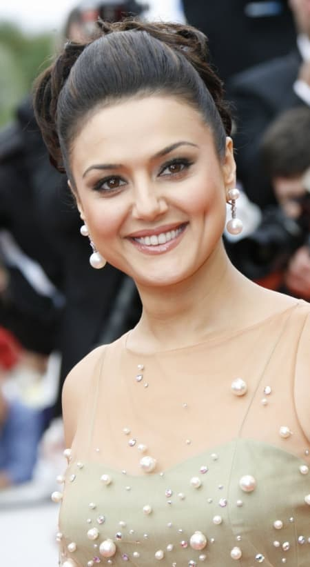 Preity Zinta Plastic Surgery Before And After photo - 1
