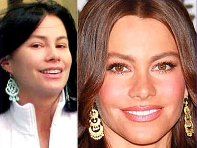 Sofia Vergara Before And After Plastic Surgery photo - 1