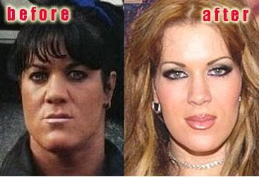 What Did Chyna Look Like Before Steroids And Plastic Surgery photo - 1