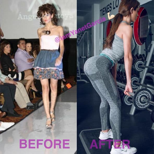 Yanet Garcia Before And After Plastic Surgery photo - 1