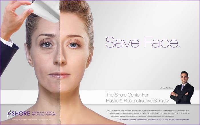 advertising plastic surgery photo - 1