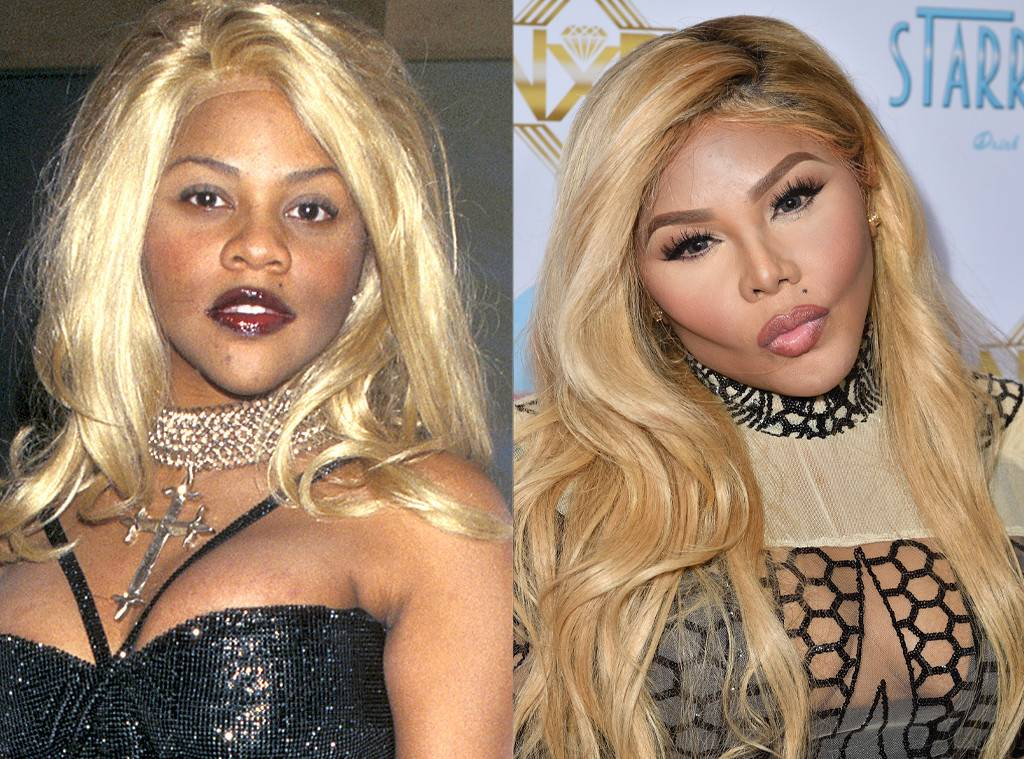 Lil Kim Before After Plastic Surgery 1