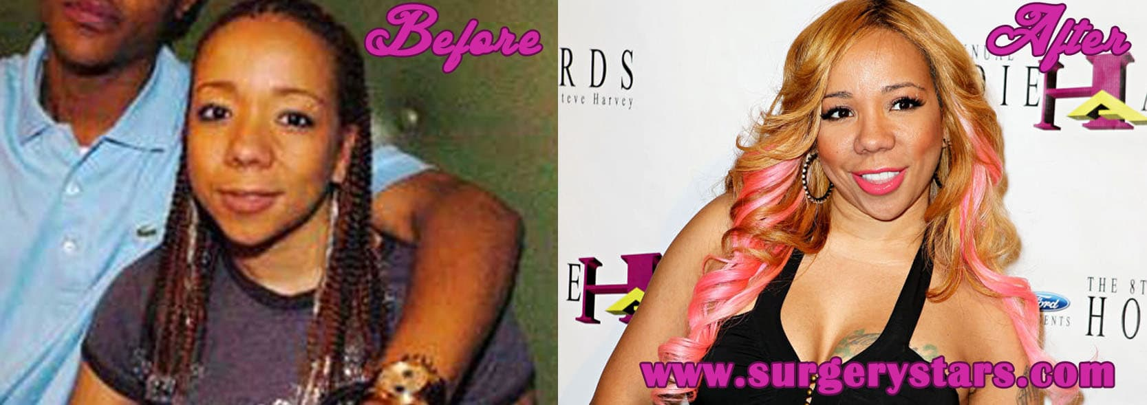 Tameka Cottle Before Plastic Surgery 1