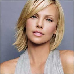 Charlize Theron Before Plastic Surgery 1