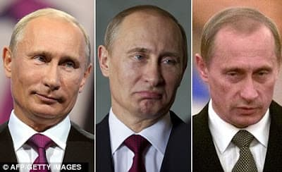 Putin Plastic Surgery Before And After 1