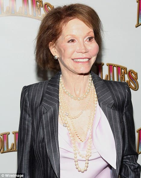 Mary Tyler Moore Before Plastic Surgery 1
