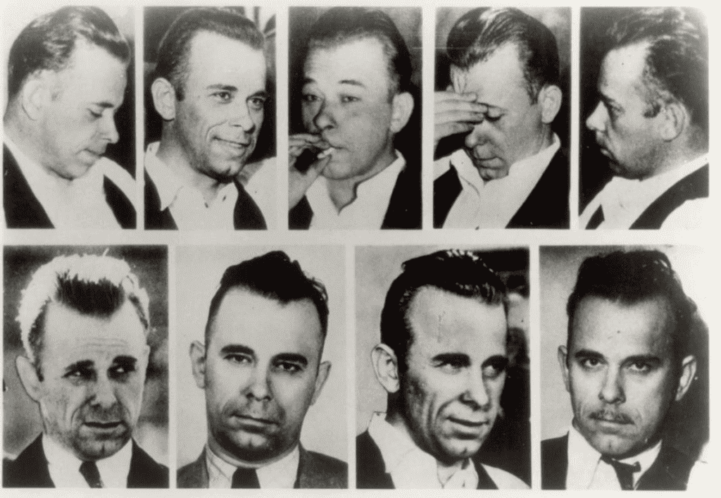 Dillinger Before After Plastic Surgery 1