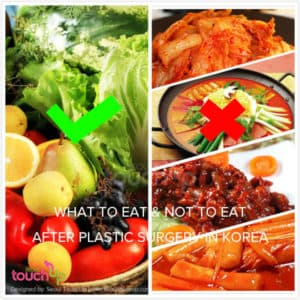 what to eat after plastic surgery 1