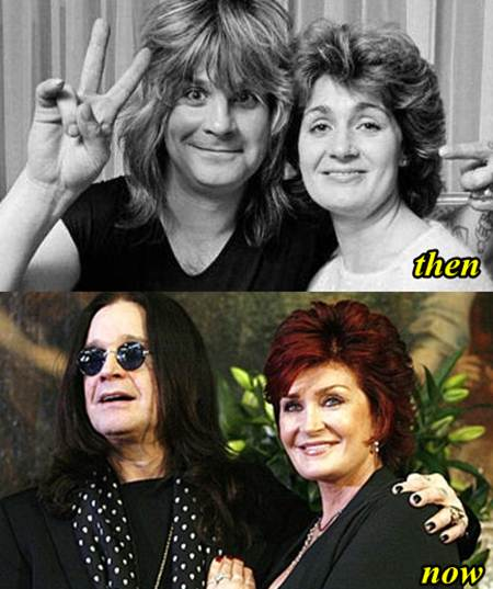 Ozzy Osbourne Plastic Surgery Before And After photo - 1