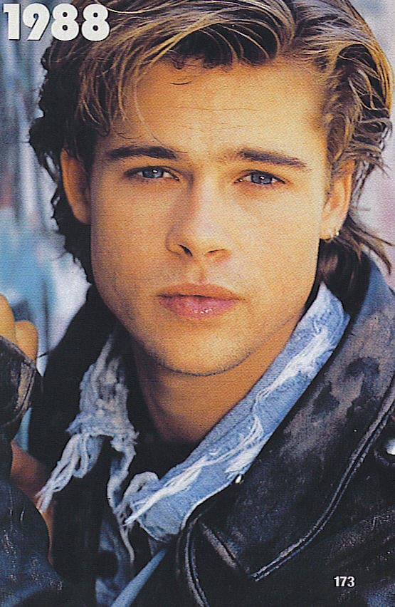 Brad Pitt Before And After Plastic Surgery 1