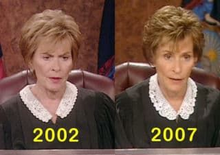 Judge Judy Before And After Plastic Surgery 1