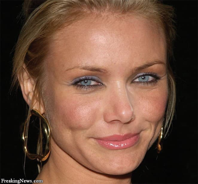 Cameron Diaz Before And After Plastic Surgery 1