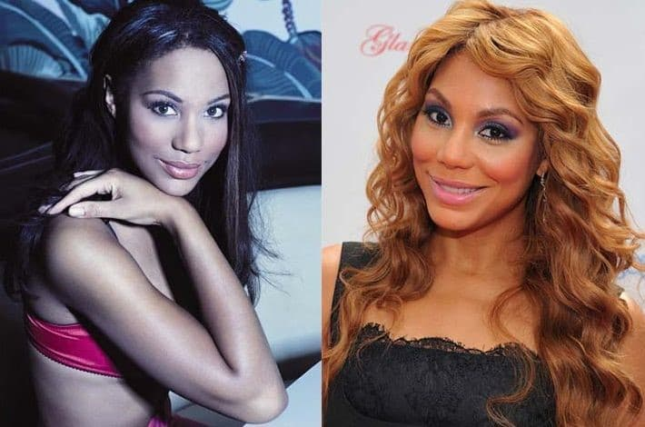 Tamar Braxton Pictures Before Plastic Surgery 1
