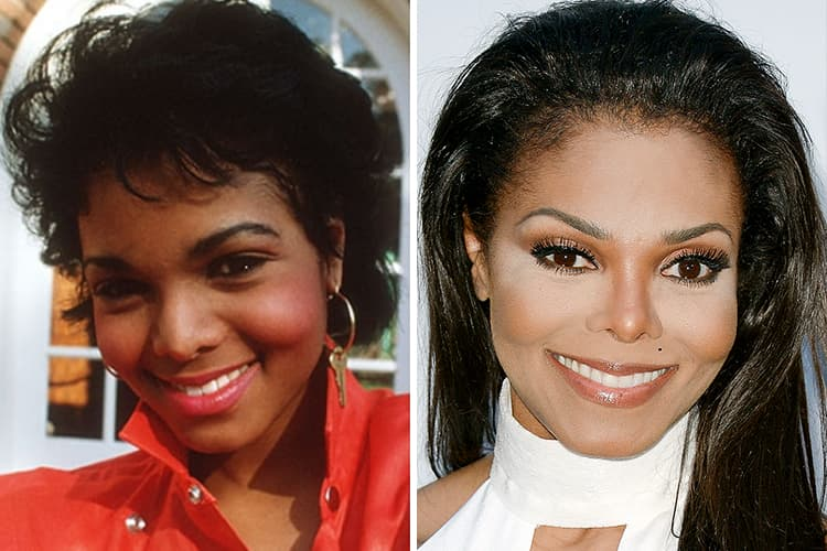 Janet Jackson Plastic Surgery Before And After 1