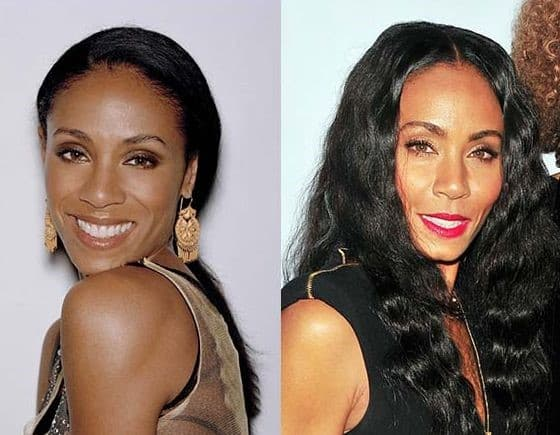Jada Pinkett Smith Before And After Plastic Surgery photo - 1