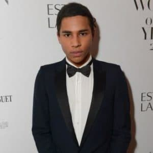 Olivier Rousteing Before Plastic Surgery 1