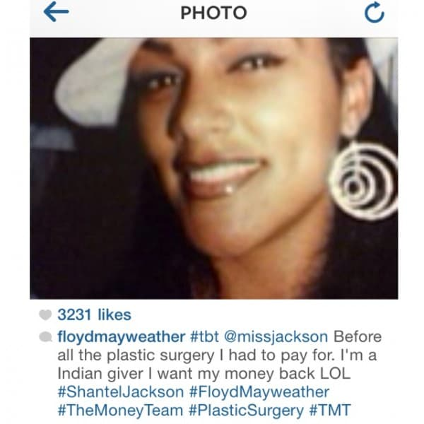 Leaked Pics Of Shantel Jackson Before Plastic Surgery photo - 1