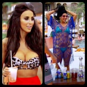 Lily From Shahs Of Sunset Before Plastic Surgery 1