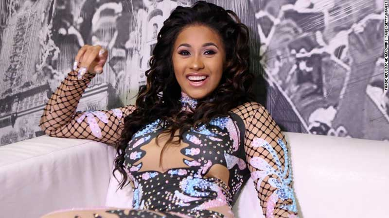 Cardi B Plastic Surgery Before After photo - 1